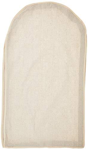 Whitmor Zippered Garment Bag Natural Linen