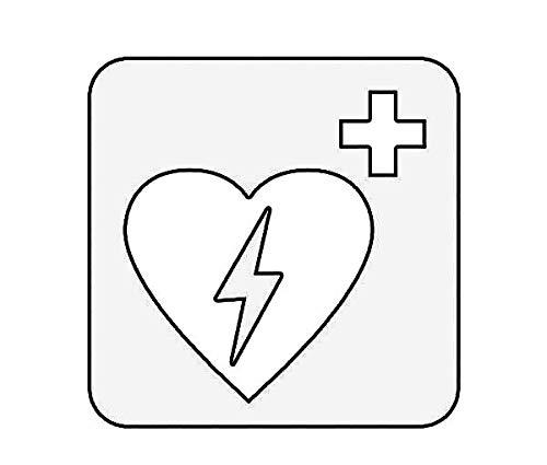 ION Graphics Magnet Defibrillator Magnetic Vinyl Cardiac 5' Car Magnet Bumper Sticker