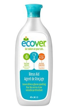 Ecover Powered by Nature Rinse Aid for Dishwashers 16 oz -Pack 3