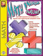 Math Word Problems: Over 300 Sequential Word Problems to Improve Math Reasoning & Computation Skills
