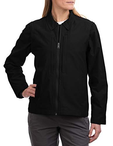 SCOTTeVEST Essential Jacket 2.0 for Women - Travel Jacket - 24 Pockets - BLK M1