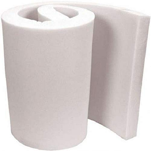 FoamTouch Upholstery Foam Cushion, High Density, 6' H x 24' H x 72' L