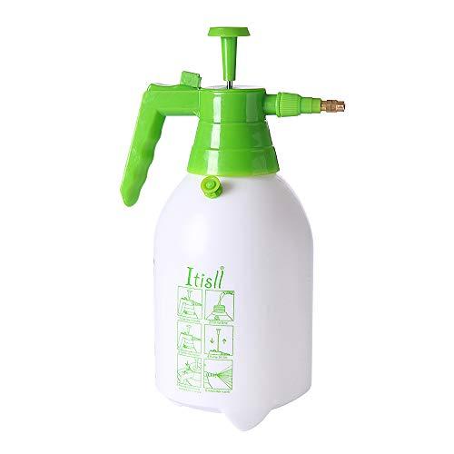 ITISLL Manual Garden Sprayer Hand Lawn Pressure Pump Sprayer Safety Valve Adjustable Brass Nozzle Half Gal