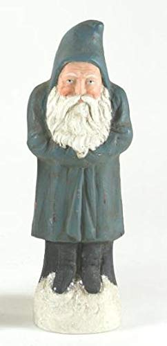 Cody Foster Belsnickle Santa Christmas Figure Figurine Silver Gray Color