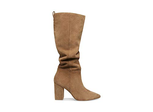 Steve Madden Raddle to The Knee Boot Tan Suede 9.5