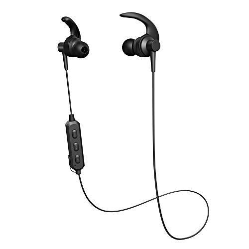 Wireless Bluetooth Headset - Wireless in-Ear Headphones - Women's Men's Sports Headphones - Sports Bluetooth Headset - Best Wireless Headset for Workout, Gym, Running(Black)