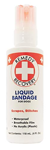 Cardinal Laboratories Remedy and Recovery Liquid Bandage for Dogs, 4-Ounce