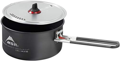 MSR Ceramic Nonstick Solo Camping Pot with Fusion Coating