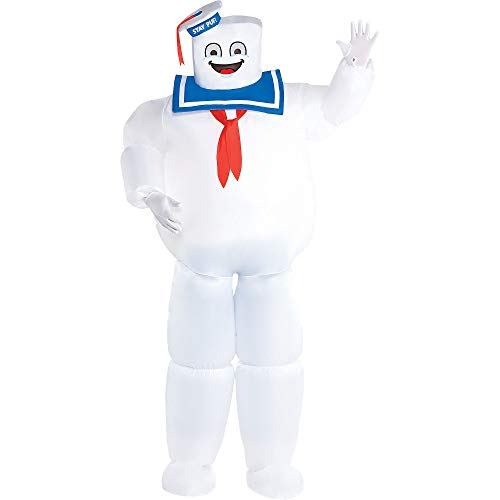 Party City Classic Inflatable Stay Puft Marshmallow Man Costume for Adults, Ghostbusters, Plus Size