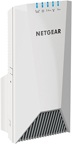 NETGEAR WiFi Mesh Range Extender EX7500 - Coverage up to 2300 sq.ft. and 45 devices with AC2200 Tri-Band Wireless Signal Booster & Repeater (up to 2200Mbps speed), plus Mesh Smart Roaming