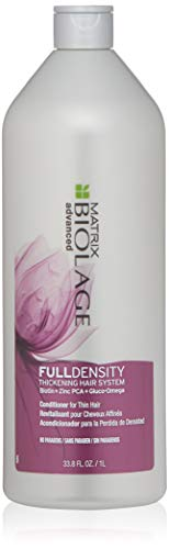 BIOLAGE Advanced Full Density Thickening Conditioner   Controls Frizz & Nourishes  Paraben-Free   For Thin Hair   33.8 Fl. Oz.