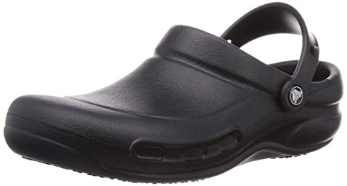Crocs Bistro Clog, Black, 10 US Men / 12 US Women