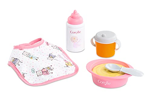Corolle Mon Premier Poupon Mealtime Set - Feeding Accessories for 12' Baby Dolls