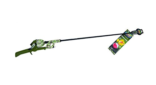 Kid Casters Green Camo No Tangle Fishing Combo with Bobber, Practice Casting Plug, Multicolor
