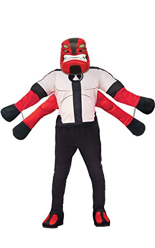 Rubie's Ben 10 Child's Deluxe Four Arms Costume, Small