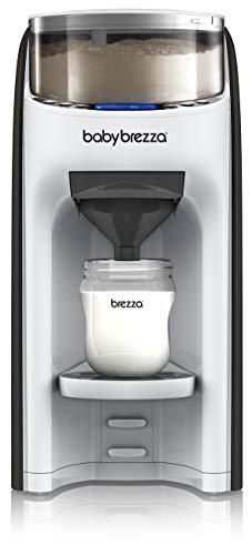 New and Improved Baby Brezza Formula Pro Advanced Formula Dispenser Machine - Automatically Mix a Warm Formula Bottle Instantly - Easily Make Bottle with Automatic Powder Blending