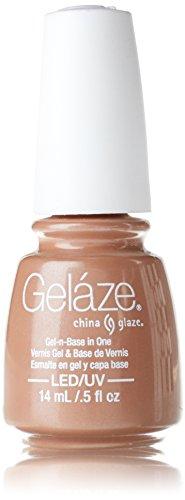 China Glaze Gelaze100% Gel-n-Base Polish, Camisole, 0.5 Ounce