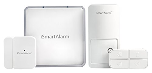 iSmartAlarm Home Security System for Apartment Renters with no Monthly fee, 7.20in. x 7.20in. x 6.00in, Multicolor