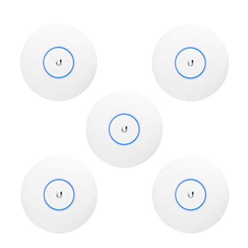 Ubiquiti UniFi nanoHD Compact 802.11ac Wave2 MU-MIMO Enterprise Access Point (UAP-NanoHD-US) (5-Pack)
