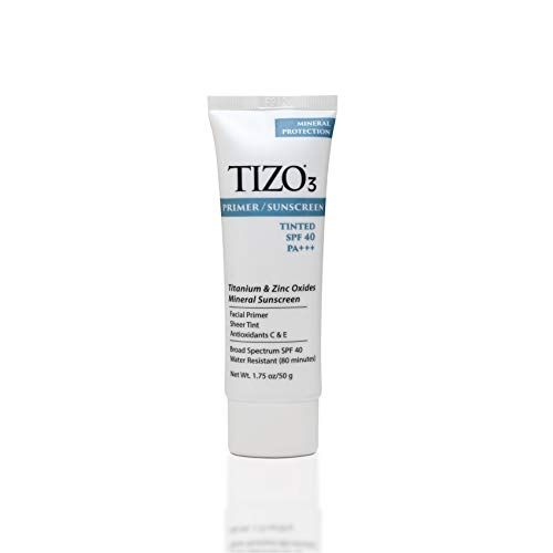 TIZO 3 Mineral Sunscreen for face SPF 40, 1.75 oz