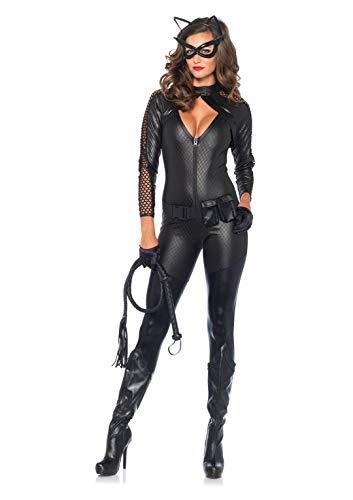 Leg Avenue Women's 4 Piece Wicked Kitty Costume Black