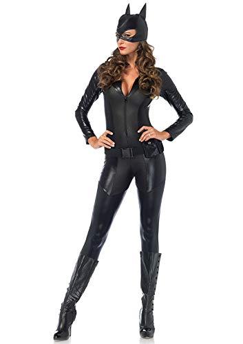 Leg Avenue Women's Costume, Black, Medium