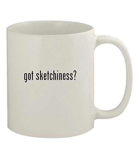 got sketchiness? - 11oz Ceramic White Coffee Mug, White