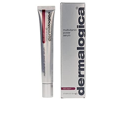 Dermalogica Multivitamin Power Serum (0.75 Fl Oz) Anti-Aging Face Serum with Vitamin C and Vitamin E - Reduces Fine Lines and Wrinkles, Controls Pigmentation