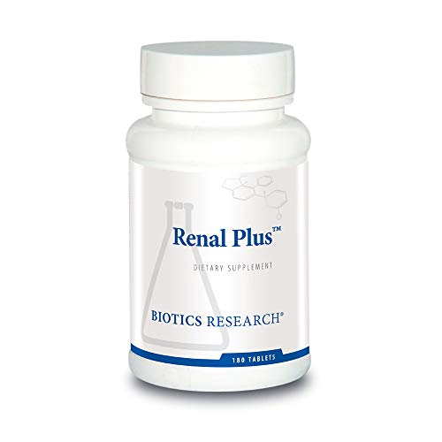 Biotics Research Renal Plus – Botanical, Glandular and Nutritional Support for Optimal Renal Function. Kidney Health. Supports Urological Function. Ulva Ursi, Buchu Leaf, Echinacea, Cranberry 180T