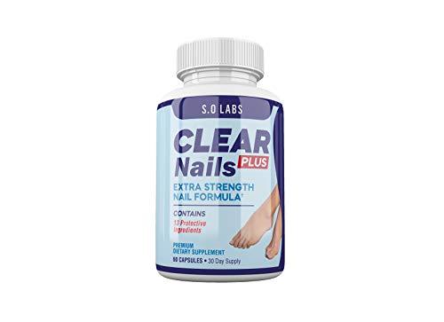Clear Nails Plus - Antifungal Probiotic Pills - 60 Capsules