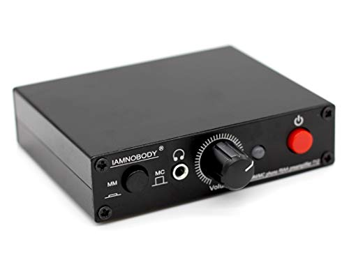 T12 MM MC cart Turntable Phono RIAA Preamp preamplifier + Headphone amplifier