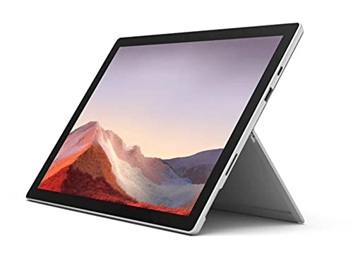Microsoft Surface Pro 7+ 256GB 11th Gen i7 16GB RAM with Windows 10 Pro (12.3-inch Touchscreen, Wi-Fi, 2.8GHz i7-1165G7, 15 Hr Battery, Newest Version) Commercial Packaging, Platinum 1NC-00001