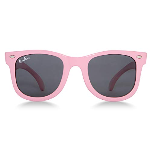 Polarized WeeFarers Sunglasses (0-2 & 2-4 yrs) (0-2 years, Pink)