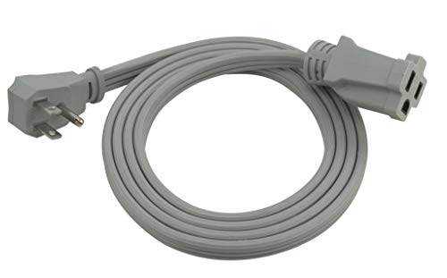 Prime, Gray, EC680506L Air Conditioner and Major Appliance Extension Cord, 6-Feet