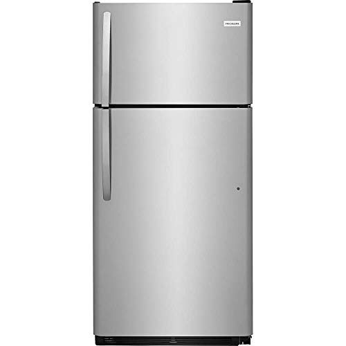 FRIGIDAIRE FFTR1821TS 30 Inch Freestanding Top Freezer Refrigerator with 18 cu. ft. Total Capacity, in Stainless Steel