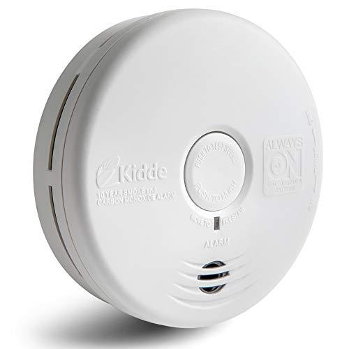 Kidde 21010170 10 Year Smoke and Carbon Monoxide Alarm Detector | Photoelectric | Kitchen | Model P3010K-CO