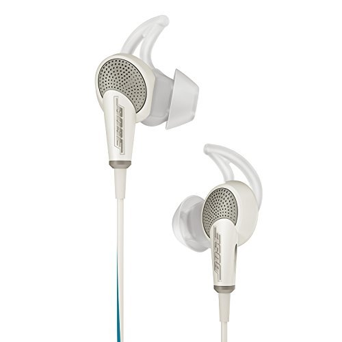 Bose QuietComfort 20 Acoustic Noise Cancelling Headphones, Samsung and Android Devices, White