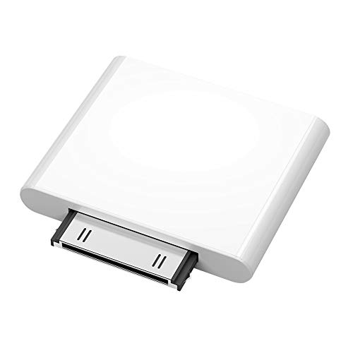 Bullker Wireless Bluetooth Transmitter HiFi Audio Dongle Adapter for iPod Classic/Touch White