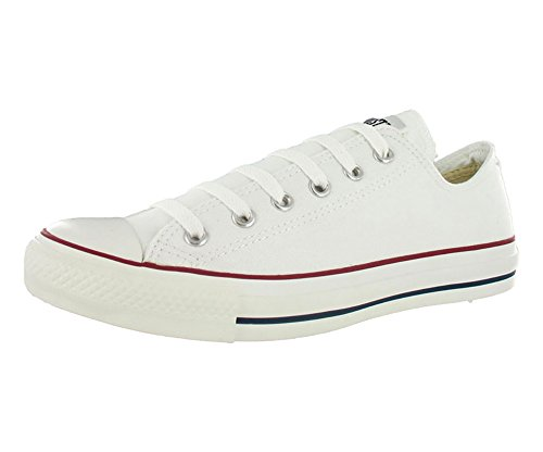 Converse Unisex Chuck Taylor All Star Oxfords Optical White 9.5 D(M) US