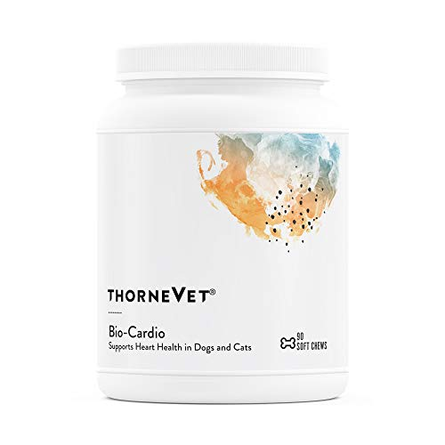 ThorneVet Bio-Cardio – Cardiovascular Support for Dogs & Cats, 90 Soft Chews