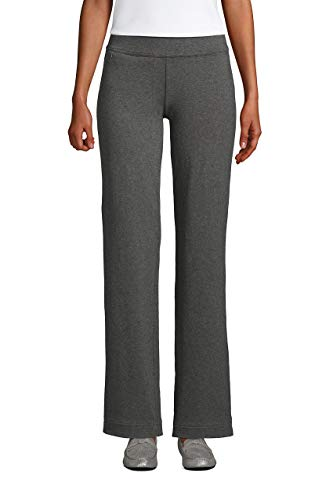 Lands' End Women s Starfish Pants Charcoal Heather Tall X-Large