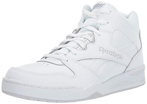 Reebok Men's Royal BB4500H2 XE Sneaker, White/Light Solid Grey,11 W US