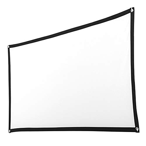 Kiorc 120inch HD Projector Screen 16:9 Home Cinema Theater Projection Portable Screen