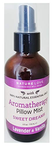 Nature Love - Sweet Dreams - Aromatherapy Pillow Mist Spray - Lavender and Vanilla