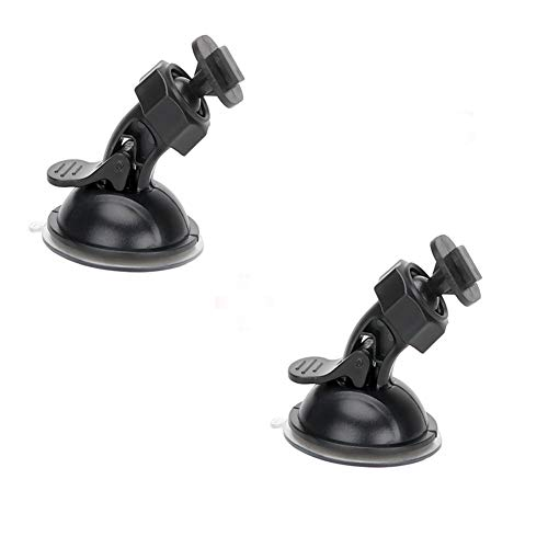 Dash Cam Suction Cup Mount for Yi Dash Cam 2.7' Screen, Easy to Install and Remove Hold Tightly and Stand Heat Well, 2 Pieces