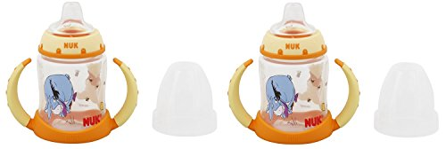 NUK Learner Cup, 5-Ounce, 2 Count, Winnie the Pooh (Colors May Vary)