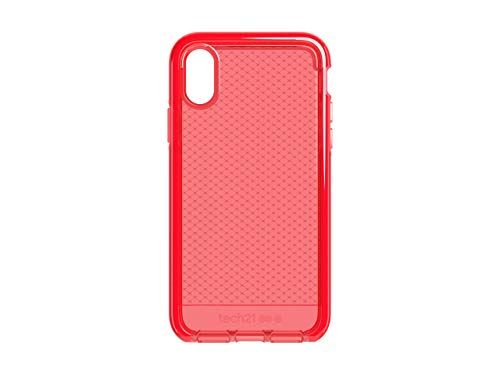 Tech21 Evo Check Phone Case for Apple iPhone X and iPhone Xs - Rouge