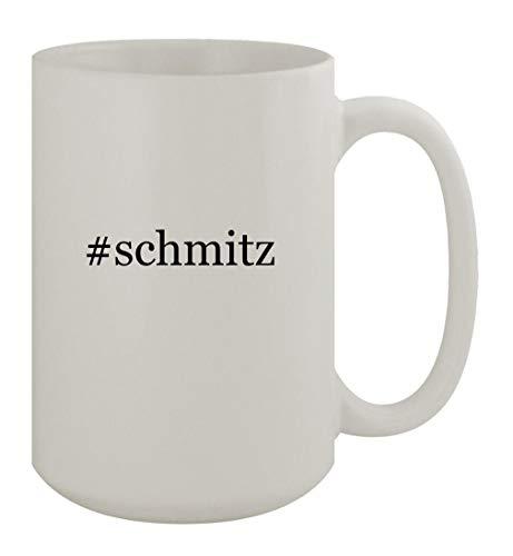 #schmitz - 15oz Ceramic White Coffee Mug, White