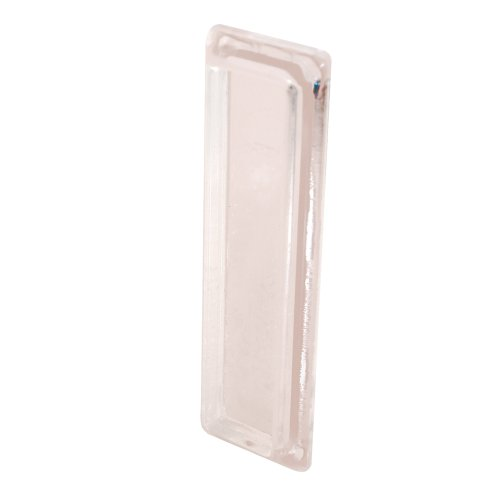 Prime-Line F 2549 Self-Adhesive Window Finger Pull, Clear Plastic,(Pack of 2)