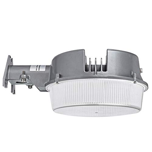 CINOTON LED Barn Light 42W, 5000K Daylight Dusk to Dawn LED Outdoor Lighting with Photocell, 4950lm LED Security Area Light, Replace Up to 400W Incandescent/175WMH, Yard light UL-Listed for Farm/Porch